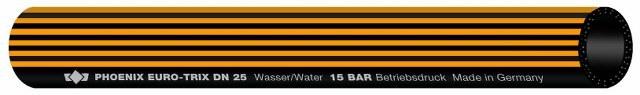 """12 m EURO-TRIX EPDM Wasserschlauch 13,0x3,50 ca. 1/2"""""""